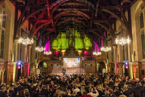 AUDE awards and gala dinner, Whitworth Hall