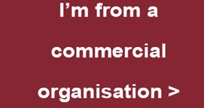I'm from a commercial organisation