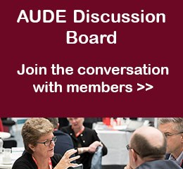 AUDE Discussion Board